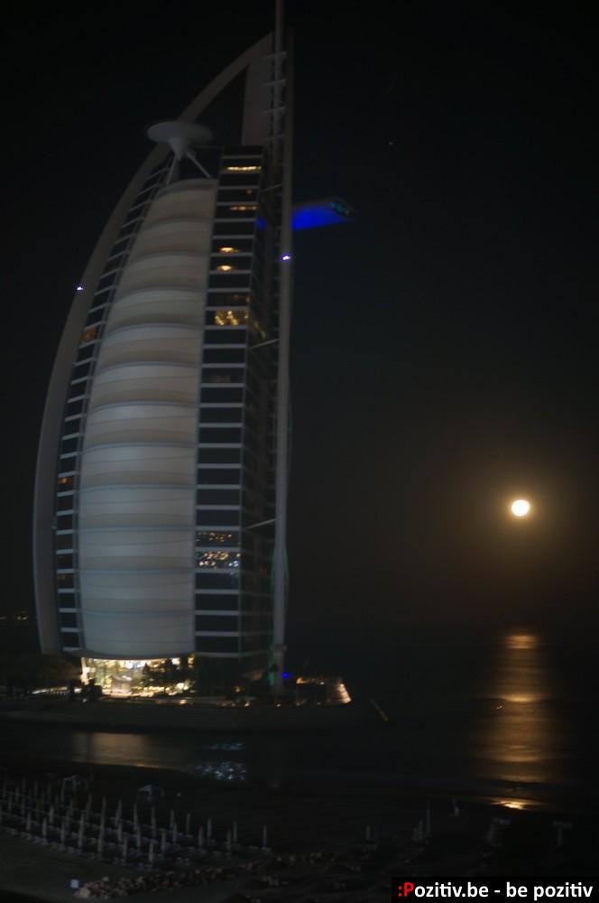 Burj Al Arab ночью