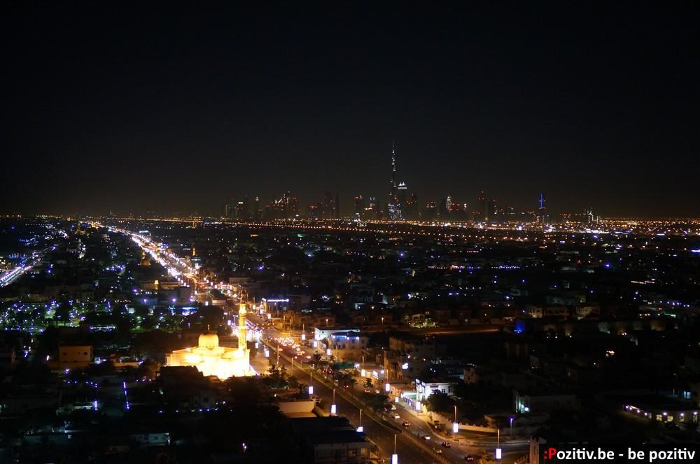 Ночной вид с Jumeirah Beach Hotel