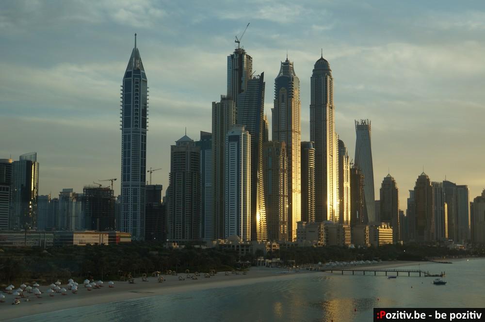 Dubai Marina. Вид с монорельса