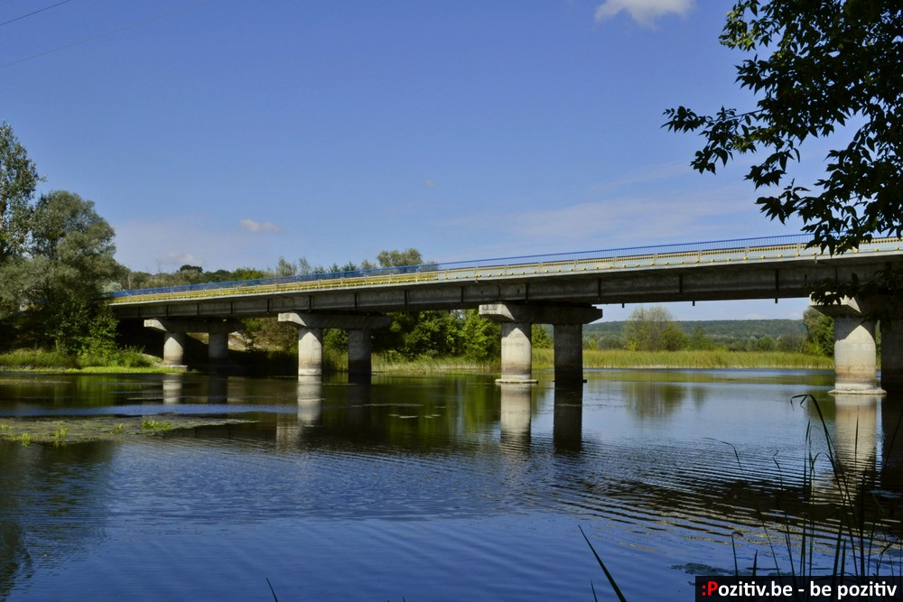 Ахтырка, мост через Ворсклу