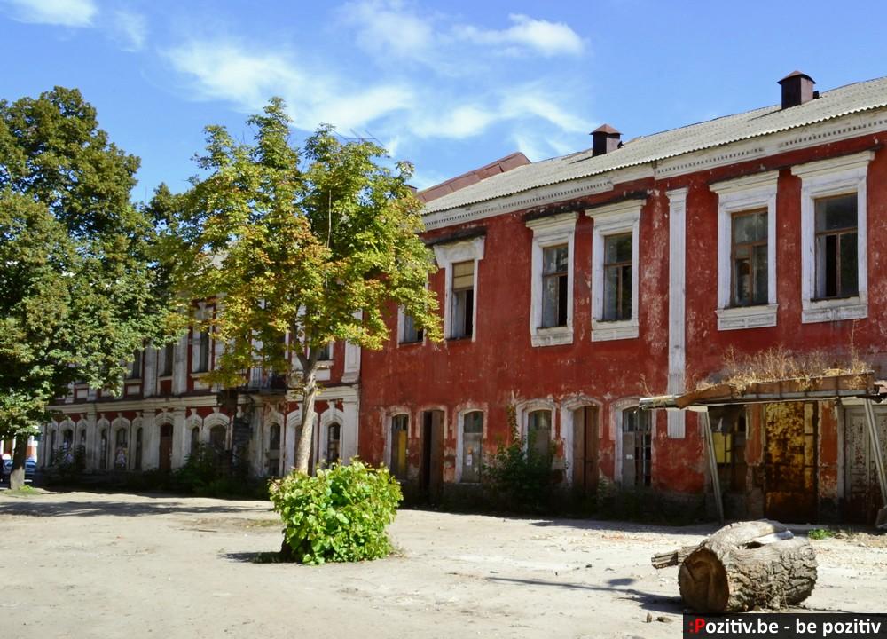 Старинные здания Ахтырки