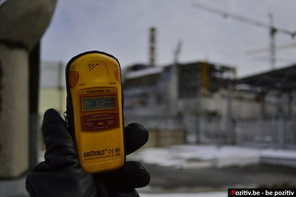 ЧАЭС в 2016, уровень радиации