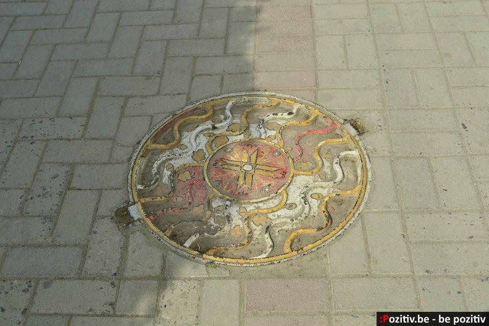 Каменец-Подольский орнамент на люке