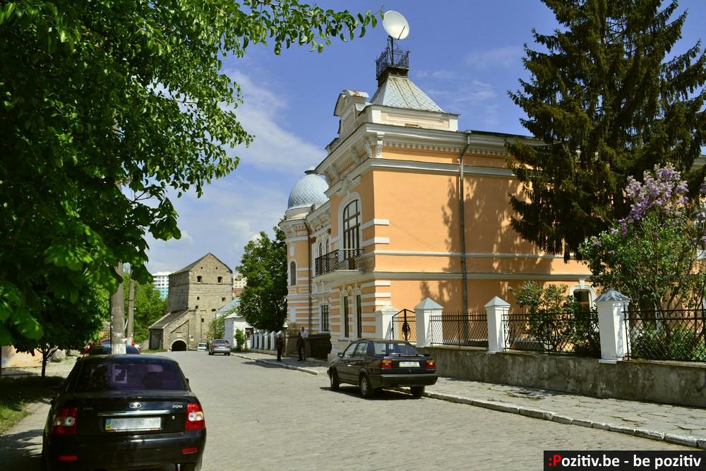 Каменец-Подольский, Старый город, колледж культуры и искусств, башня Стефана Батория