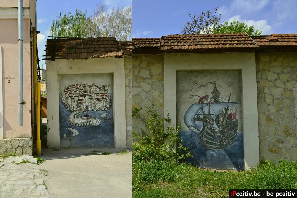 Каменец-Подольский, Старый город, стрит арт