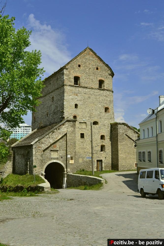 Каменец-Подольский, Старый город, башня Стефана Батория