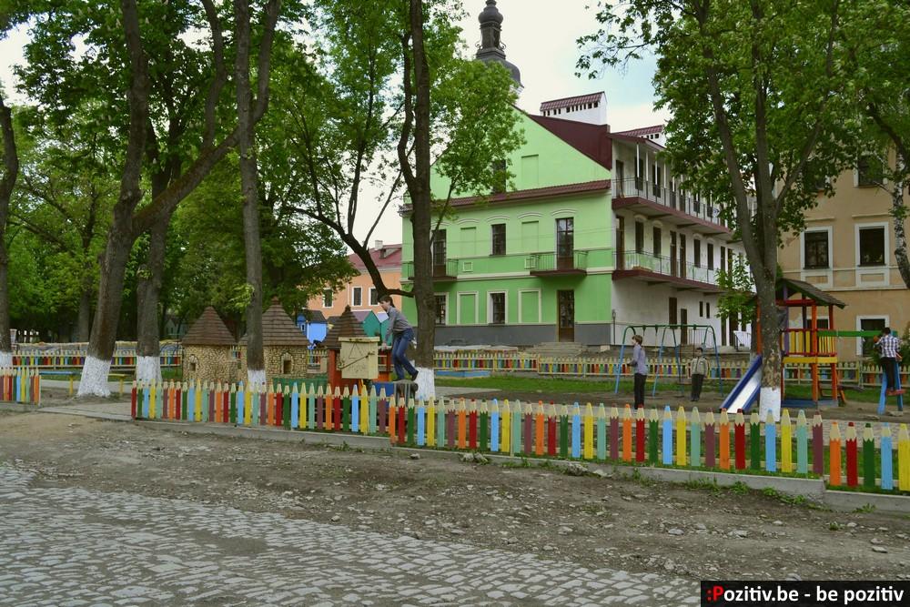 Каменец-Подольский, Старый город, детская площадка
