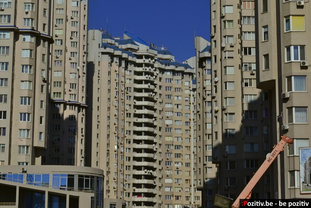 Одесса, здание муравейник