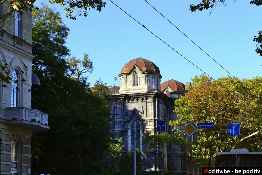 Одесса, улица Жуковского, Бродская синагога