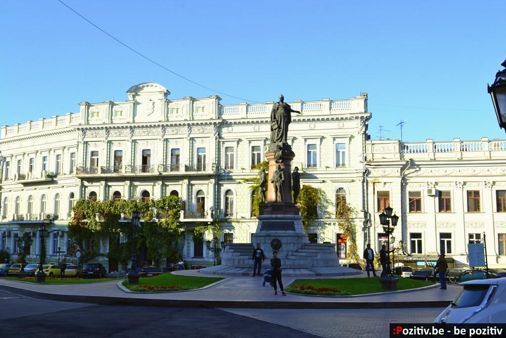 Памятник основателям Одессы aka Памятник Екатерине II