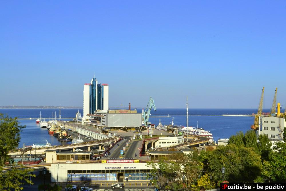 Одесса, морской вокзал, порт, отель Одесса