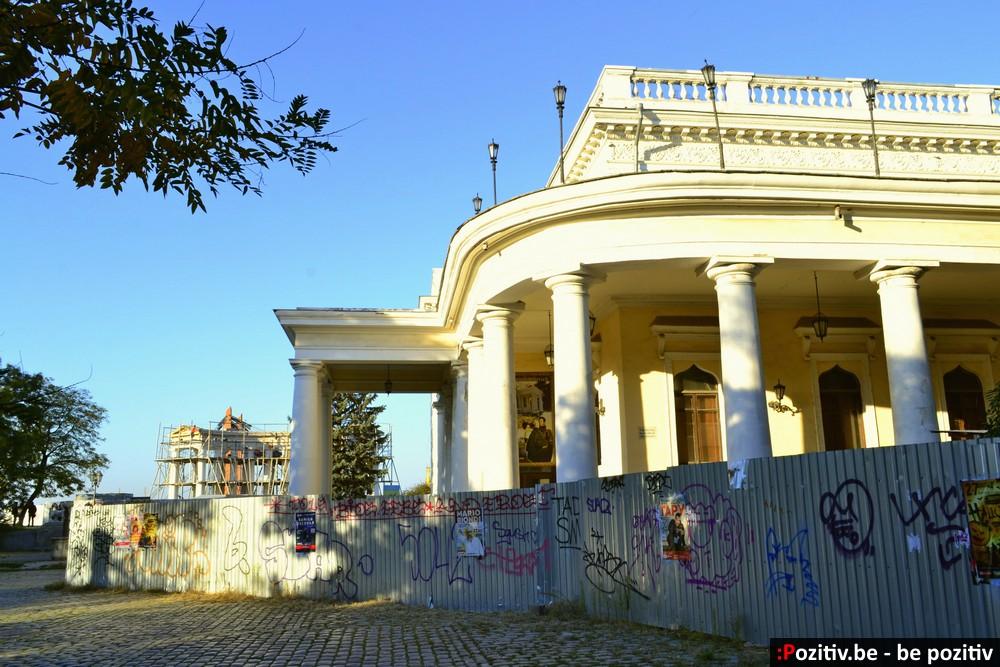 Одесса, Приморский бульвар, Воронцовский дворец