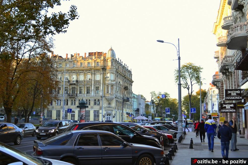 Одесса, Соборная площадь, улица Преображенская
