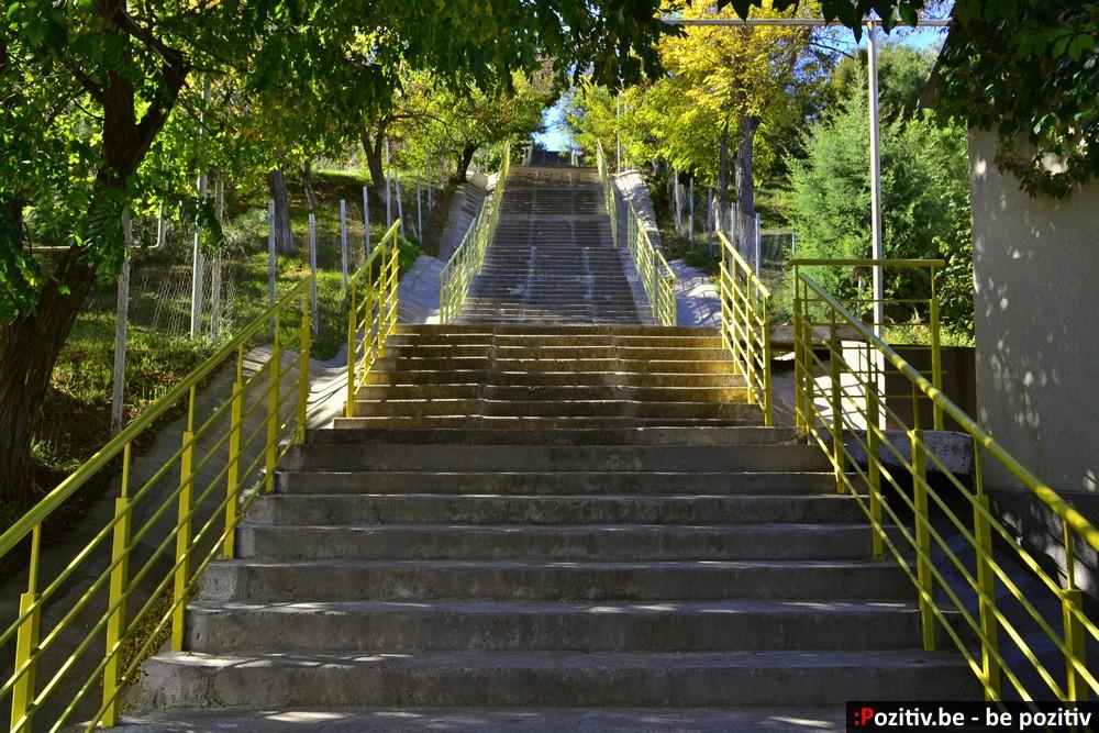 Одесса, Чёрное море, пляж, лестница