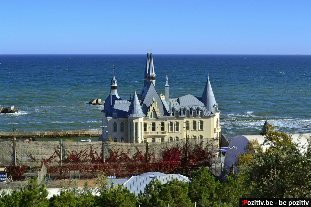 Одесса, Чёрное море, пляж, замок