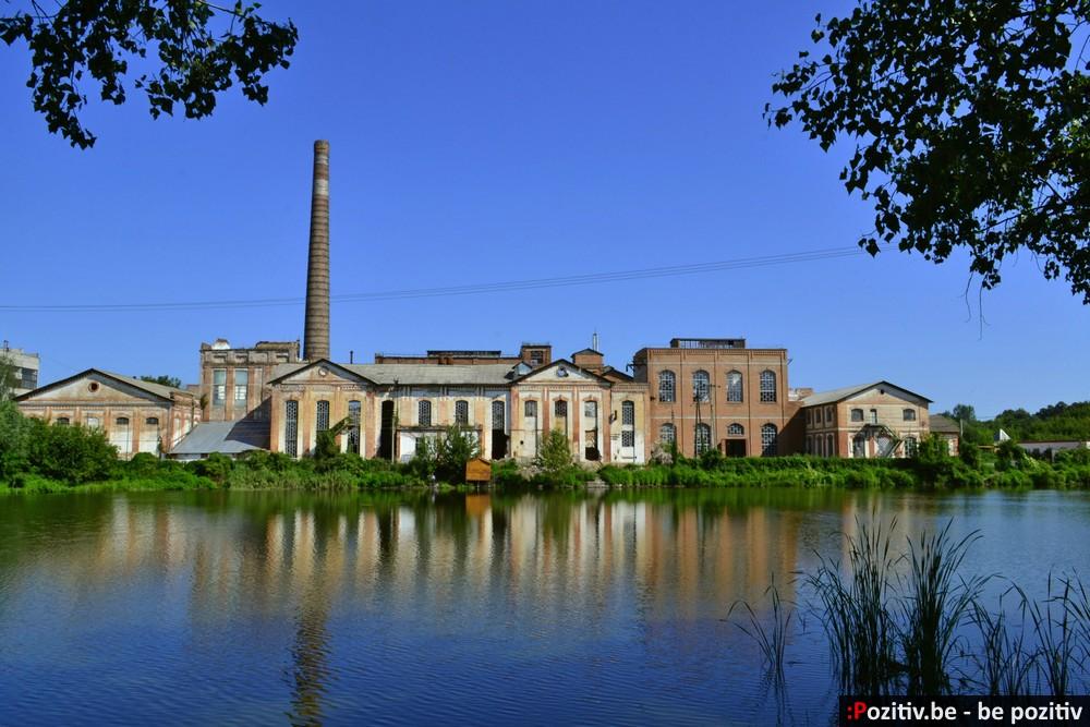 Старинный сахарный завод в Парафиевке