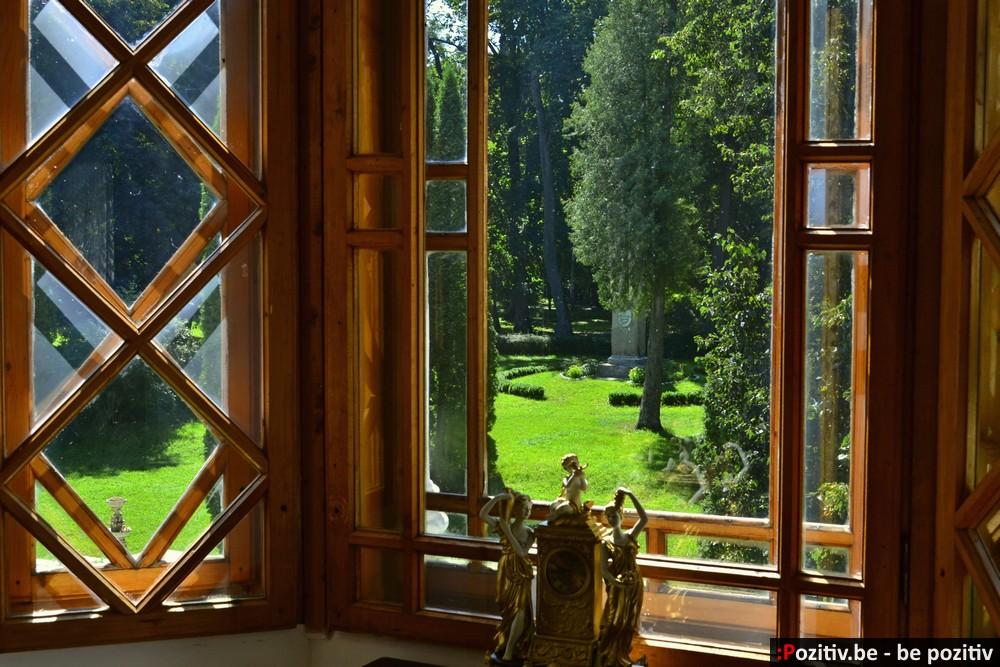 Качановская усадьба, вид из окна