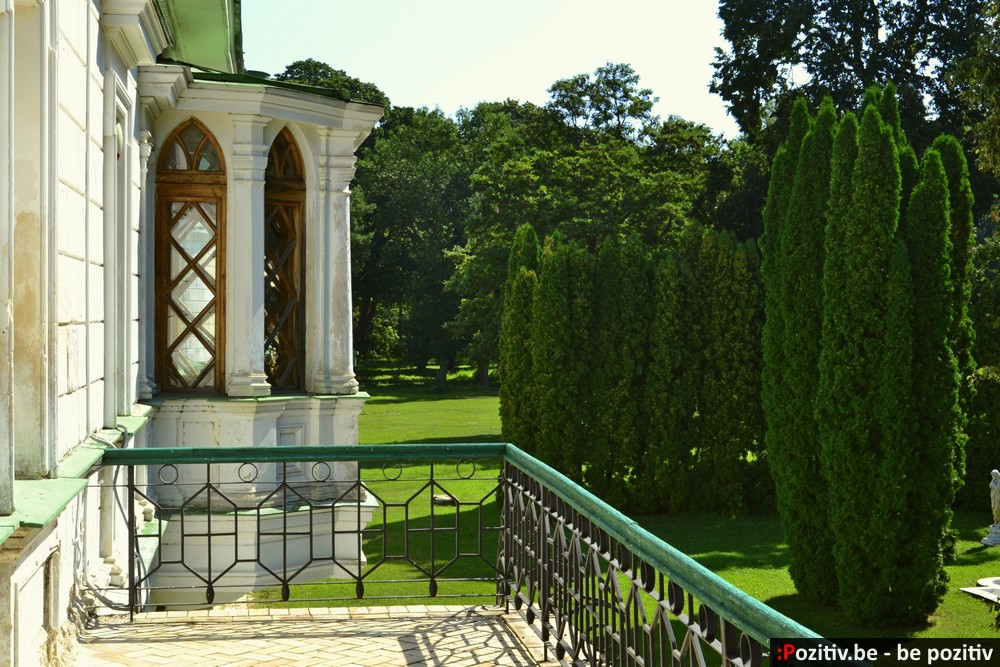 Качановская усадьба, вид с балкона