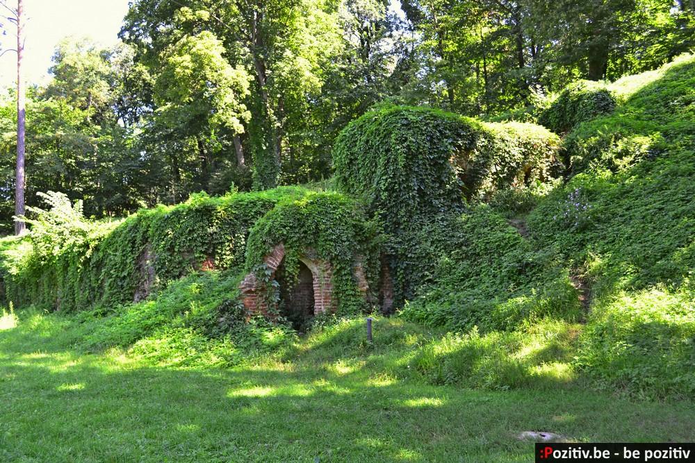 Качановская усадьба, руины